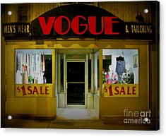 Halifax Vogue Acrylic Print by John Malone