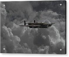 Halifax - Ww2 Heavy Bomber Acrylic Print