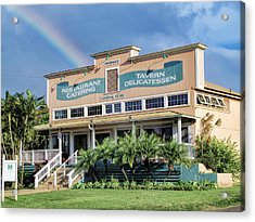 Acrylic Print featuring the photograph Haliimaile General Store 1 by Dawn Eshelman