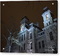 Hall Of Languages Acrylic Print