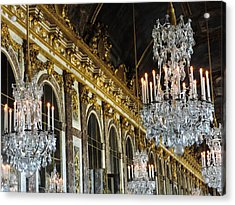 Hall Of Mirrors Acrylic Print by Clare Mulholland