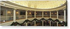 Hall Of Presidents Walt Disney World Panorama Acrylic Print by Thomas Woolworth