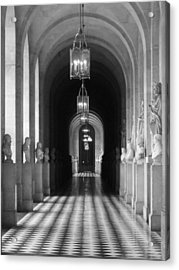 Acrylic Print featuring the photograph Hall Of Sculpture by Meaghan Troup