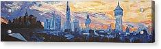 Halle Saale Germany Skyline Acrylic Print by M Bleichner