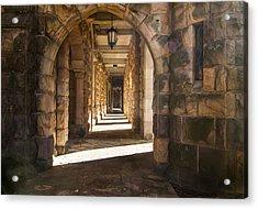 Hallowed Halls Acrylic Print