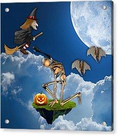 Halloween Acrylic Print by Marvin Blaine