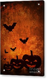 Halloween Pumpkins Acrylic Print