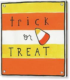Halloween Trick Or Treat Candy Corn Acrylic Print
