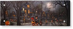 Halloween Trick Or Treat Acrylic Print