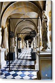 Halls Of Versailles Paris Acrylic Print
