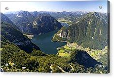 Hallstatt Lake Austria Acrylic Print