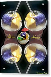 Halo Halo Desert Acrylic Print