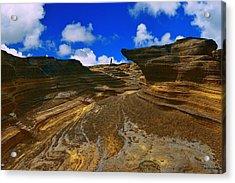 Acrylic Print featuring the photograph Halona Rocks by Aloha Art