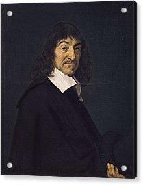 Hals, Frans 1580-1666. Portrait Of Ren� Acrylic Print by Everett