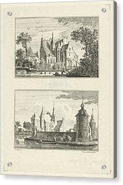 Halsaf Castle And Castle Grondstein, The Netherlands Acrylic Print