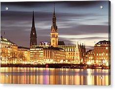 Hamburg Christmas Acrylic Print