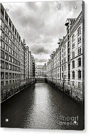 Hamburg Speicherstadt Acrylic Print