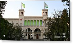 Acrylic Print featuring the photograph Hamburger Bahnhof In Berlin by Art Photography