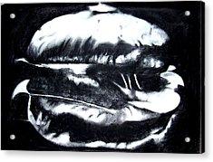 Hamburger Acrylic Print by Izabela Bienko