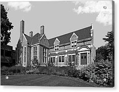 Hamline University Giddens Alumni Center Acrylic Print by University Icons