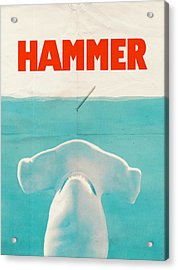 Hammer Acrylic Print by Eric Fan