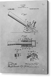 Hammer Patent Acrylic Print