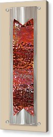 Hammered Acrylic Print by Rick Roth