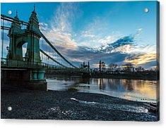Hammersmith Bridge Acrylic Print