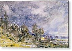 Hampstead Heath From Near Well Walk Acrylic Print by John Constable