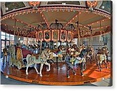 Hampton Carousel 2 Acrylic Print