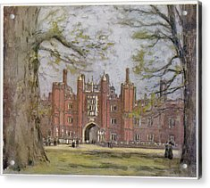 Hampton Court, West London, Showing Acrylic Print by Mary Evans Picture Library