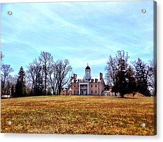 Hampton Mansion Acrylic Print