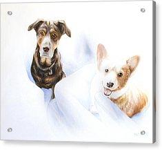Hana And Olive Acrylic Print
