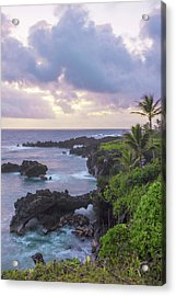 Hana Arches Sunrise 3 - Maui Hawaii Acrylic Print by Brian Harig
