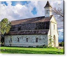 Acrylic Print featuring the photograph Hana Church 4 by Dawn Eshelman