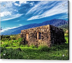 Hana Church 6 Acrylic Print by Dawn Eshelman