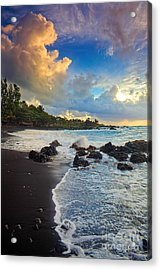 Hana Clouds Acrylic Print by Inge Johnsson