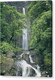 100105-hanakapiai Falls, Kauai  Acrylic Print