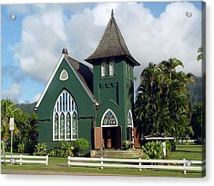 Hanalei Church Acrylic Print