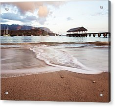 Hanalei Dawn - Kauai, Hawaii Acrylic Print