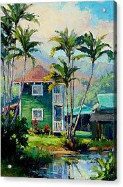 Hanalei House Acrylic Print