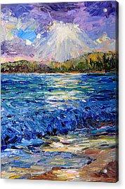 Hanalei Sunrise Acrylic Print by Steven Boone