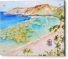 Hanauma Bay Acrylic Print
