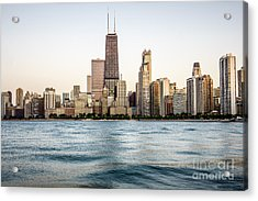 Hancock Building And Chicago Skyline Acrylic Print by Paul Velgos