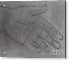 Hand Of God Acrylic Print by James Eye