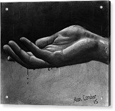 Hand Study #2 Acrylic Print