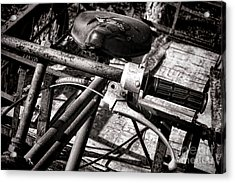 Handlebar Acrylic Print by Olivier Le Queinec