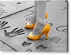 Hands And Feet Acrylic Print by Dan Holm