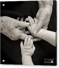 Hands Of Time Acrylic Print