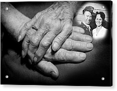 Acrylic Print featuring the photograph Time On Our Hands by Shirley Heier